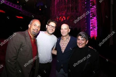 Stock Picture of Roger Guenveur Smith, Josh Kun, Taylor Mac and Kristy Edmunds