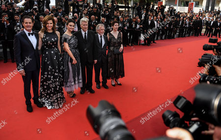 Kyle Maclachlan, Desiree Gruber, Emily Stofle, David Lynch, guest, and Sabrina Sutherland