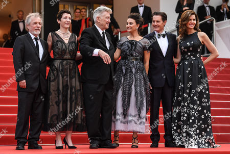 Guest, Sabrina Sutherland, Emily Stofle, David Lynch, Kyle Maclachlan and Desiree Gruber