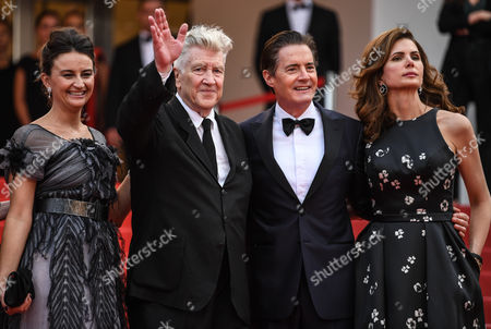 Emily Stofle, David Lynch, Kyle Maclachlan and Desiree Gruber