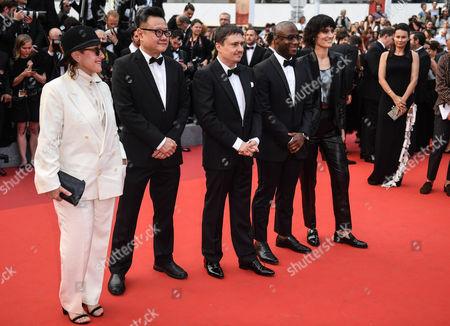 Athina Rachel Tsanga, Eric Khoo, Cristian Mungiu, Barry Jenkins and Clotilde Hesme