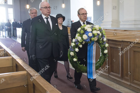 Editorial image of State Funeral of former President of Finland Mauno Koivisto, Helsinki - 25 May 2017