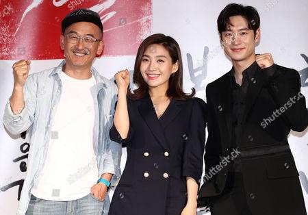 Lee Je-hoon, Choi Hee-seo and Lee Joon-ik