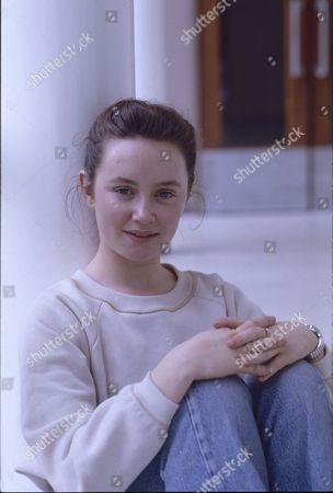 Stock Picture of Tara Moran (as Christine Carter)