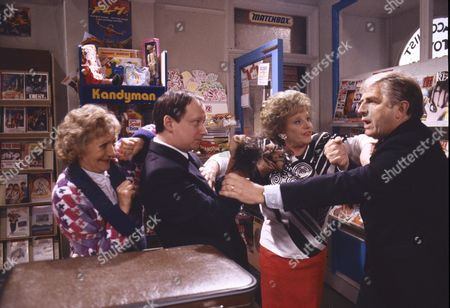 "Editorial picture of ""Coronation Street"" TV series - 1989"