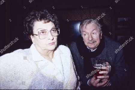 Betty Driver (as Betty Turpin) and Peter Bayliss (as Charlie Bracewell)