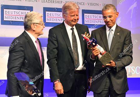 Joachim Gauck, Barack Obama and Karlheinz Koegel