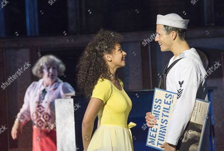 Maggie Steed as Madame Dilly, Siena Kelly as Ivy, Danny Mac as Gabey,