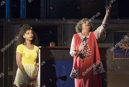 Siena Kelly as Ivy, Maggie Steed as Madame Dilly,