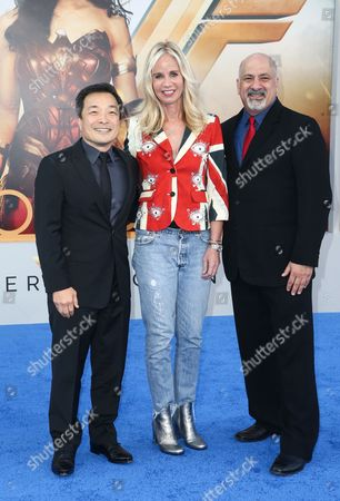 Jim Lee, Diane Nelson and Dan DiDio
