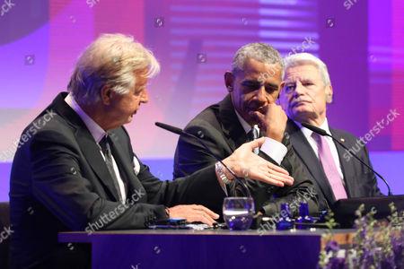 Karlheinz Koegel, Barack Obama and Joachim Gauck