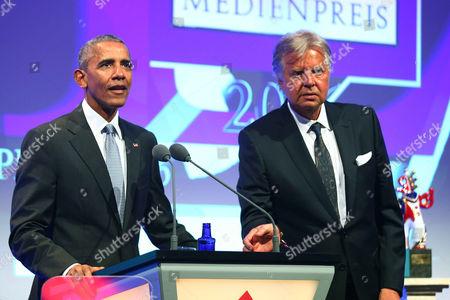 Barack Obama and Karlheinz Koegel