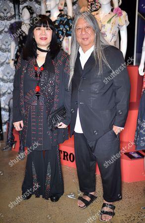 Anna Sui and John Rocha