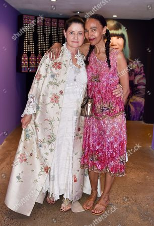 Editorial picture of 'The World of Anna Sui' exhibition private view, Fashion and Textile Museum, London, UK - 25 May 2017