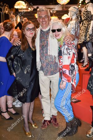 Martine Sitbon, Rifat Ozbek and Pam Hogg