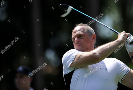 Sir Steve Redgrave during the Pro-Am event prior to the European Tour BMW PGA Championship on re-modelled West Course at the Wentworth Club, Surrey.