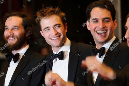 Robert Pattinson, Benny Safdie, Josh Safdie Director Josh Safdie, left, actor Robert Pattinson, and director Benny Safdie, pose for photographers upon arrival at the screening of the film Good Time at the 70th international film festival, Cannes, southern France