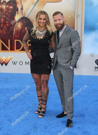 Editorial image of 'Wonder Woman' film premiere, Arrivals, Los Angeles, USA - 25 May 2017