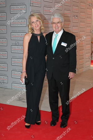 Frank Elstner with wife Britta