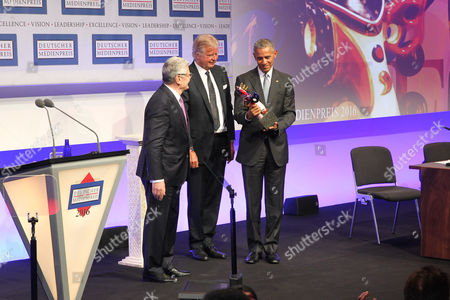 Editorial image of German Media Prize 2017 ceremony, Baden-Baden, Germany - 25 May 2017