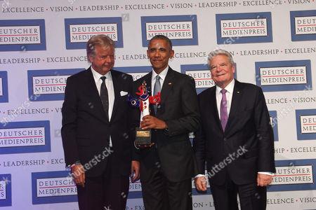 Karlheinz Koegel, Barack Obama, Joachim Gauck,