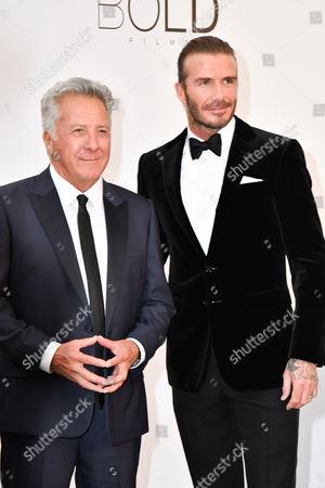 Dustin Hoffman, David Beckham
