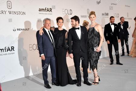 Dustin Hoffman, Lisa Hoffman, Jake Hoffman