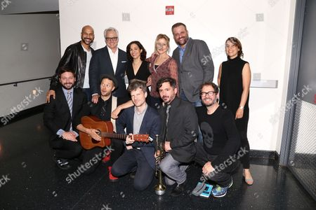 Keegan-Michael Key, Bradley Whitford, Catie Lazarus, Edie Falco, Stephen Wallem, Shockwave & The House Band