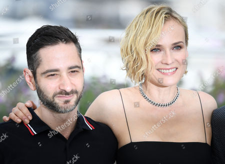 Denis Moschitto and Diane Kruger
