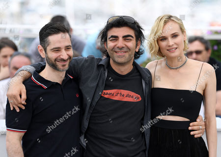 Denis Moschitto, Fatih Akın and Diane Kruger