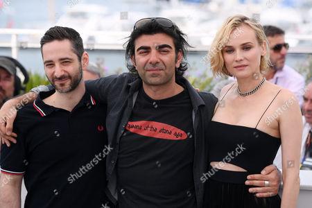 Denis Moschitto, Fatih Akin and Diane Kruger