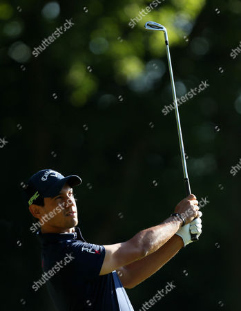 Matteo Manassero of Italy on the 2nd hole during day two of the BMW PGA Championship  played at the Wentworth Club, Surrey on 26th May 2017