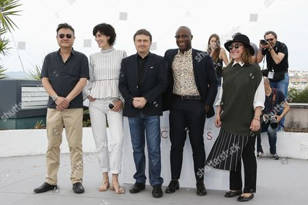 Editorial photo of Jury Cinefondation Photocall - 70th Cannes Film Festival, France - 26 May 2017