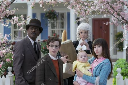 "Editorial image of ""A Series Of Unfortunate Events"" TV series - 2017"