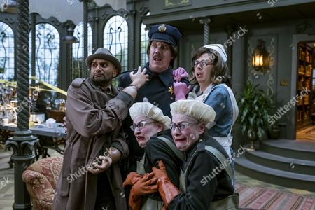 """Editorial image of """"A Series Of Unfortunate Events"""" TV series - 2017"""