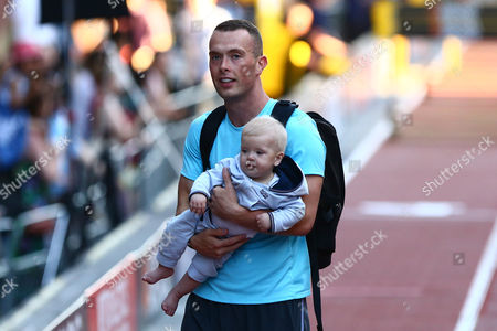 Richard Kilty with his son, also called Richard
