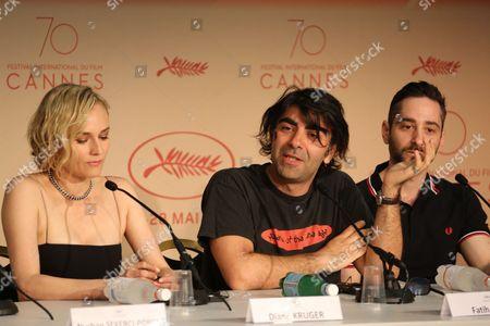 Diane Kruger, Fatih Akin, Denis Moschitto