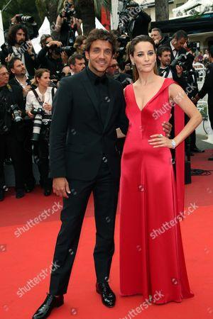 Stock Picture of Maria Joao Bastos and Ruben Alves