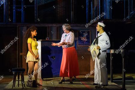 Siena Kelly (Ivy), Maggie Steed (Madame Dilly), Danny Mac (Gabey)