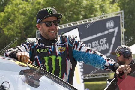 Ken Block, Hoonigan Racing Division before Q1 during WRX 2017 Round Five Qualifying at Lydden Hill Race Circuit on 27th May 2017