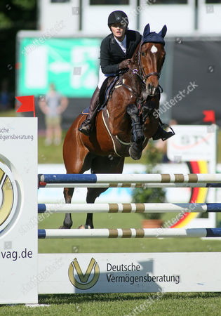 Editorial image of German jumping and dressage derby, Hamburg, Germany - 27 May 2017