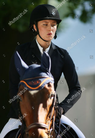 Editorial photo of German jumping and dressage derby, Hamburg, Germany - 27 May 2017