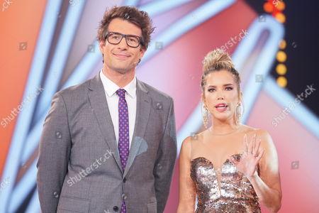 Sylvie van der Vaart and Daniel Hartwich.
