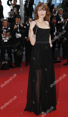 French actress Marie-Josee Croze arrives for the screening of 'D'apres Une Histoire Vraie' (Based on a True Story) during the 70th annual Cannes Film Festival, in Cannes, France, 27 May 2017. The movie is presented out of competition at the festival which runs from 17 to 28 May.