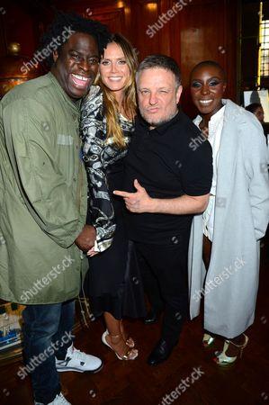 Stock Picture of Jeymes Samuel, Heidi Klum, Rankin and Laura Mvula