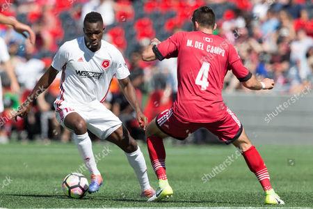 Editorial picture of USL Richmond Kickers vs Ottawa Fury FC, Ottawa, USA - 27 May 2017