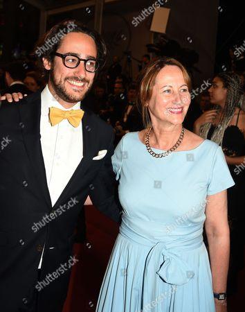 Segolene Royal and Thomas Hollande