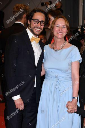 Thomas Hollande and Segolene Royal