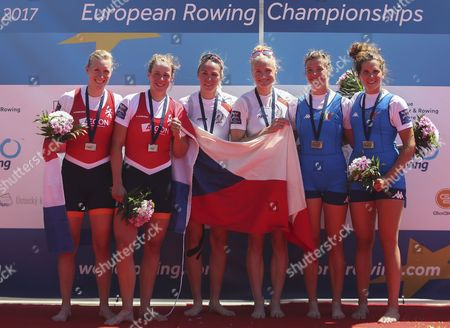 Editorial image of Rowing European Championships, Racice, Czech Republic - 28 May 2017