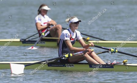 Editorial photo of Rowing European Championships, Racice, Czech Republic - 28 May 2017